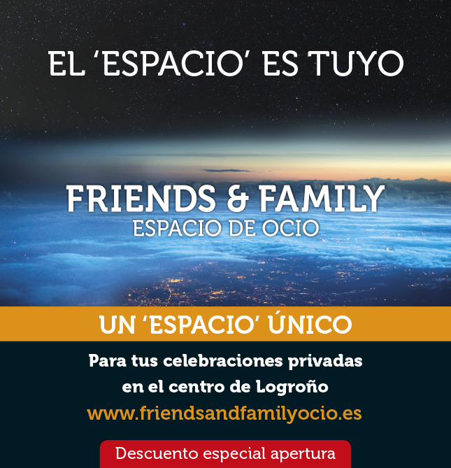 Friends & Family en diario La Rioja