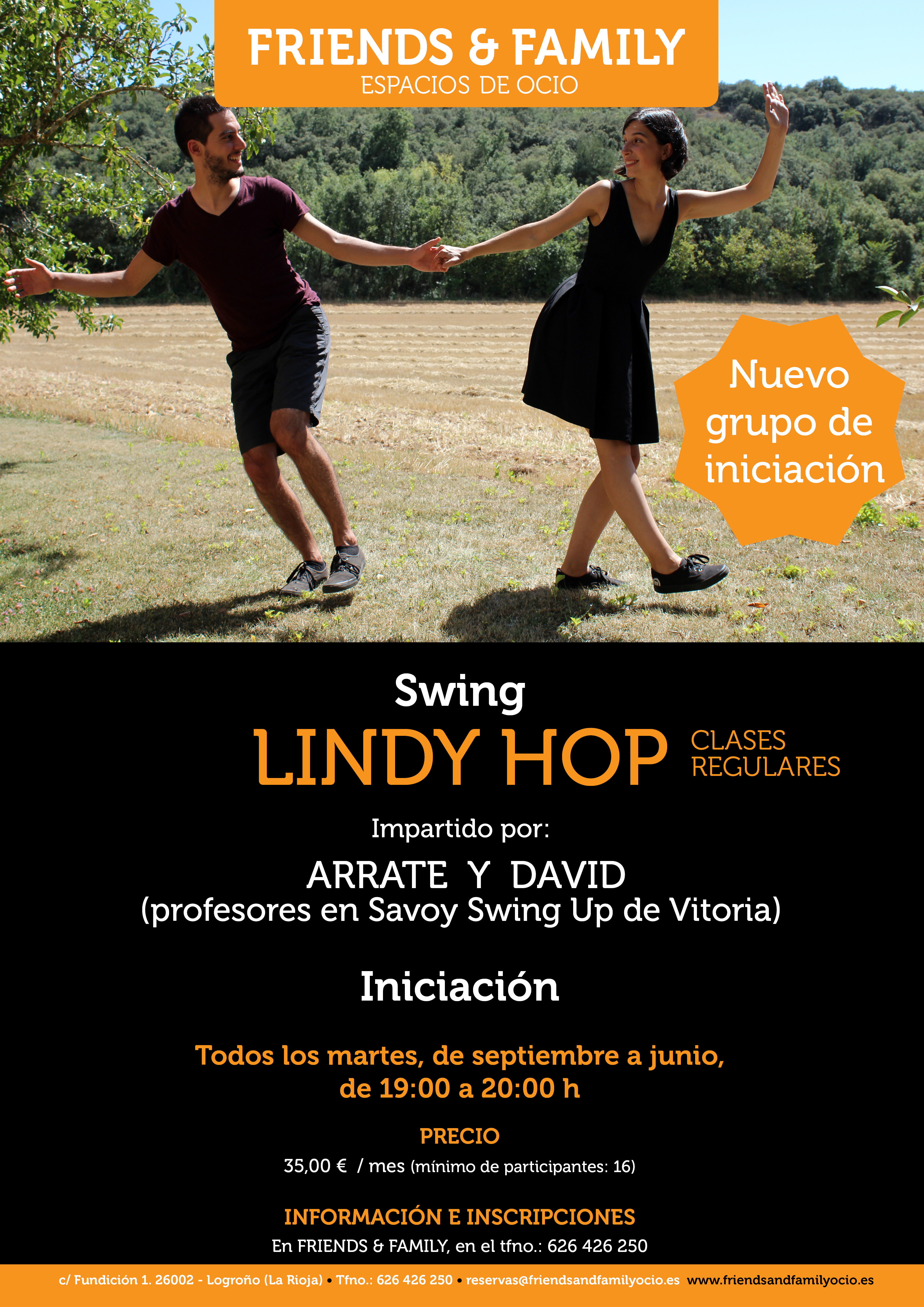 lindy hop clases regulares friends family